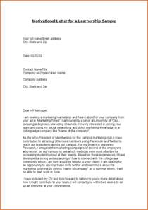 Motivational Cover Letter by 6 Motivational Letter For Cv Budget Template Letter