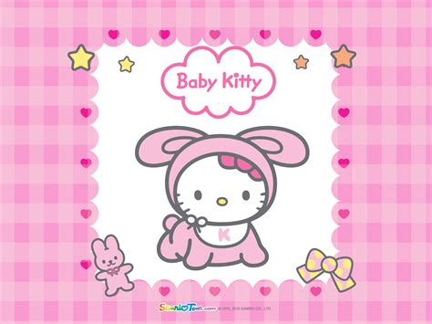 imagenes de kitty baby wallpapers de hello kitty todo hello kitty