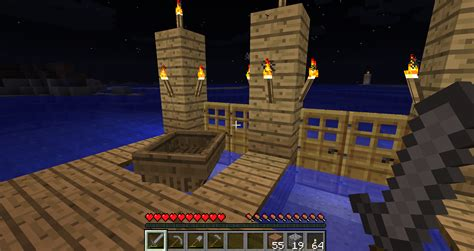 boat dock minecraft minecraft how to build a boat dock minecraft how to make