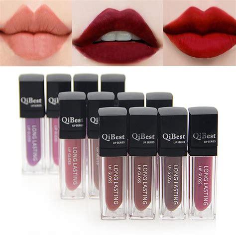 Color Matte Lip Gummy high quality 12 colors matte lipstick makeup