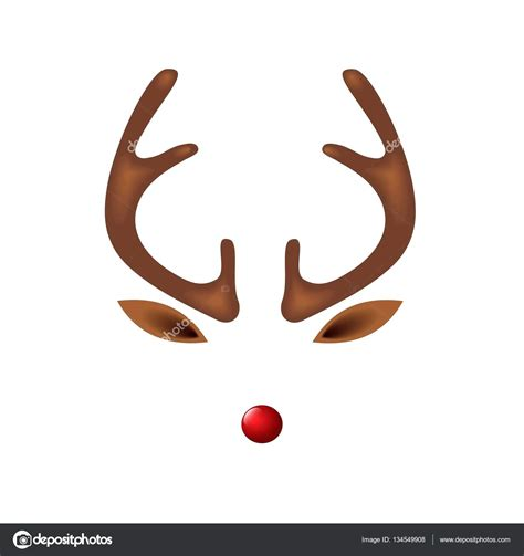 rudolph antlers template template for reindeer antlers