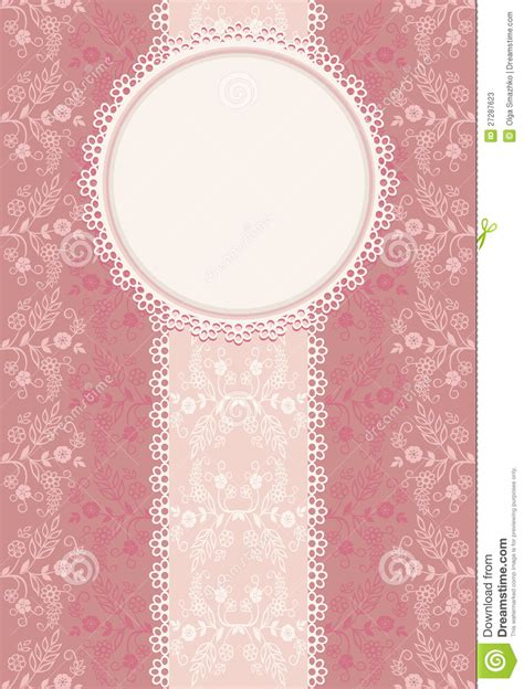 Invitation Letter Background Invitation Pink Background Stock Photos Image 27287623