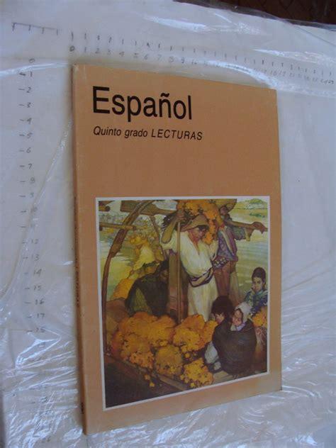 libro lecturas del juego de libro a 241 o 1995 espa 241 ol lecturas quinto grado 121 paginas 120 00 en mercado libre