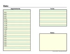 daily organizer template 7 daily organizer template bookletemplate org