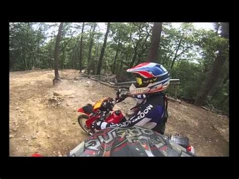 uwharrie ohv trail system carolina motorcycle and