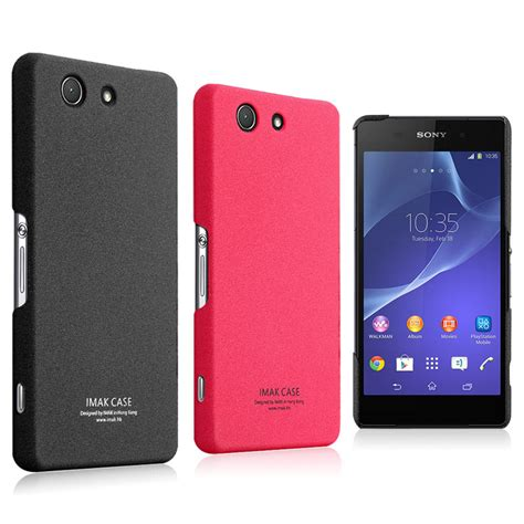 Softcase Softthin Ultrathin Xperia Z3 Mini aliexpress buy original imak ultra thin frosted back cover for sony xperia z3 compact