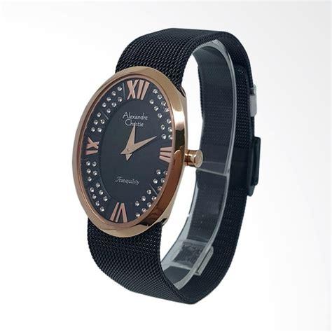 Jam Wanita Gucci Tali Pasir Gold jual alexandre christie 1431212 analog permata tali pasir jam tangan wanita gold hitam