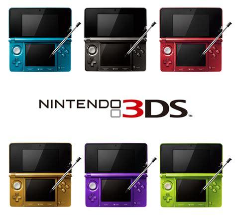 nintendo 3ds color variations by mjnj0726 on deviantart