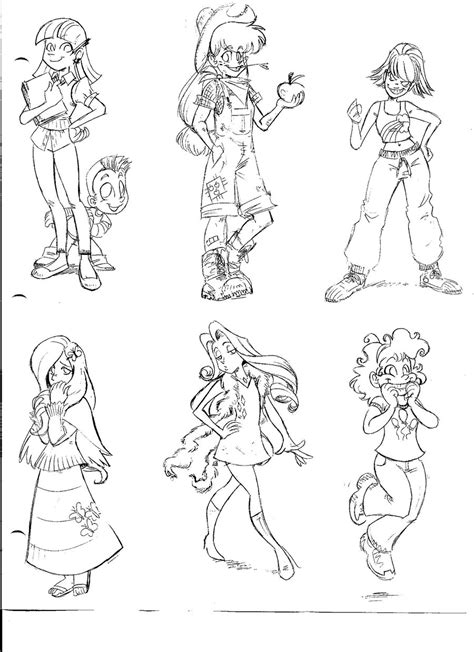 my little pony coloring pages human my little pony characters as humans coloring pages