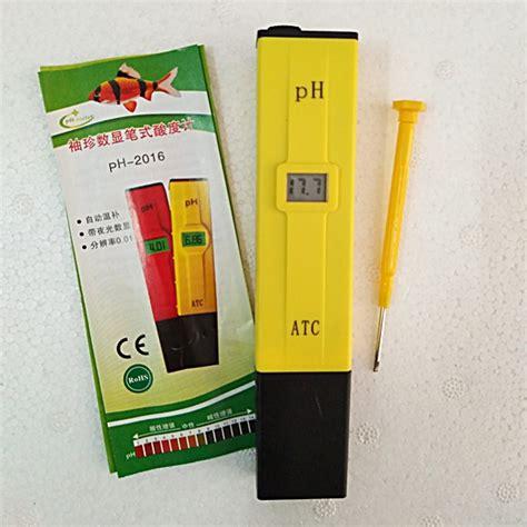 Ph Meter 009 Bonus Benih Alat Ukur Hidroponik ph meter air ph 009 obeng tanpa box buffer sudah kalibrasi jual tanaman hias