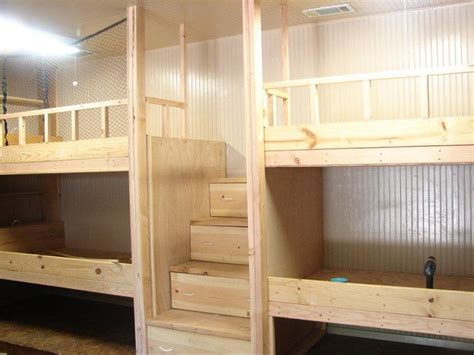 Bunk Bed Diy Diy Bunk Beds For The Home Jonah Pinterest Cabin Cabin And Ladder