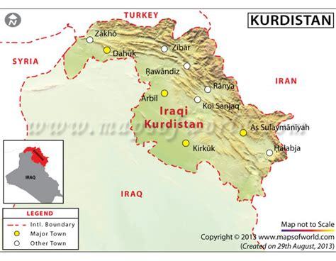 buy kurdistan map