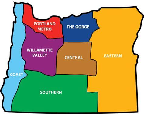 map of oregon regions be informed