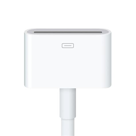 Apple 30 Pin To 8 Pin Lightning Converter Adapter Putih official apple 8 pin lightning adapter to 30 pin cable 0