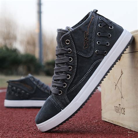 comfortable canvas sneakers new men sneakers canvas casual breathable outdoor fashion