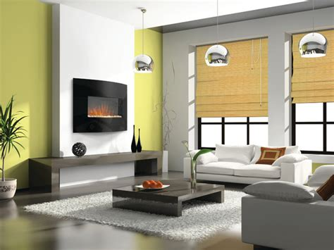 Living Room With Electric Fireplace by Electric Fireplaces Living Room Denver