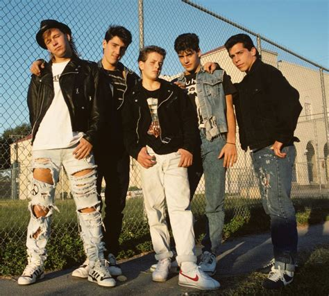 Just When You Thought New On The Block Were by New On The Block Profile And Their Hits