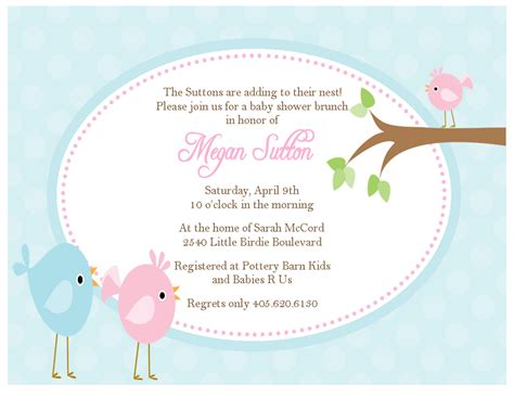 What Should A Baby Shower Invitation Say by Birdie Baby Shower Invitations Sweet Paperie