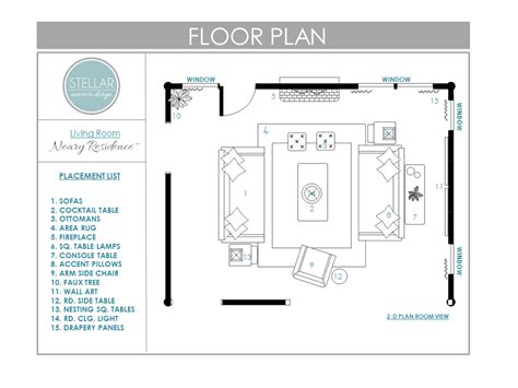 design plans floor plans for living room e design client stellar interior design