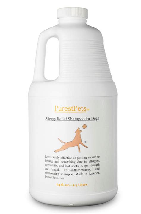 allergy relief for dogs allergy relief shoo for dogs medicated by purestpets