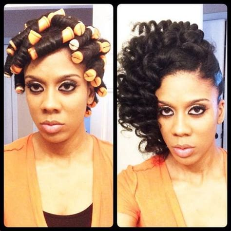african hairstyles styles of yesterday and today 183 best natural hair roller set images on pinterest