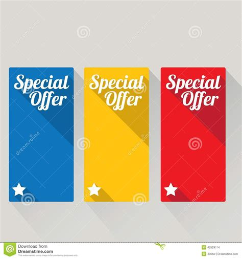 design banner discount flat design sale discount special offer button stock