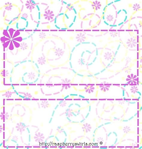 chocolate bar wrappers template free free printable free flower power bar wrapper