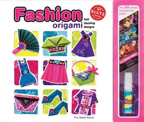 Fashion Origami Set - review giveaway klutz fashion origami book mommies