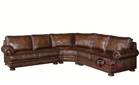 bernhardt leather sectional foster by bernhardt leather true sectional by bernhardt is