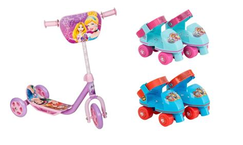 paw patrol light up scooter paw patrol roller skates groupon