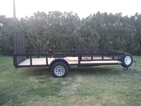 the smoke ring boat trailer conversion to utility - Boat And Utility Trailer