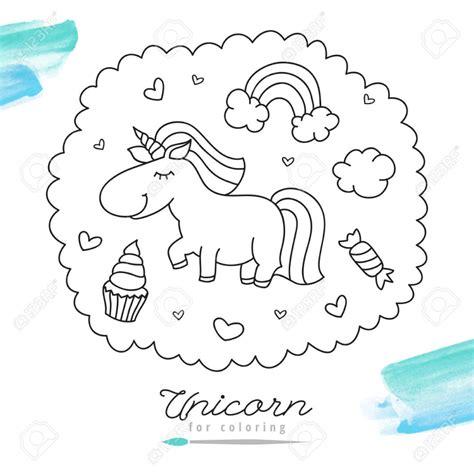 Imagenes De Unicornios Para Colorear Finest Dibujo De
