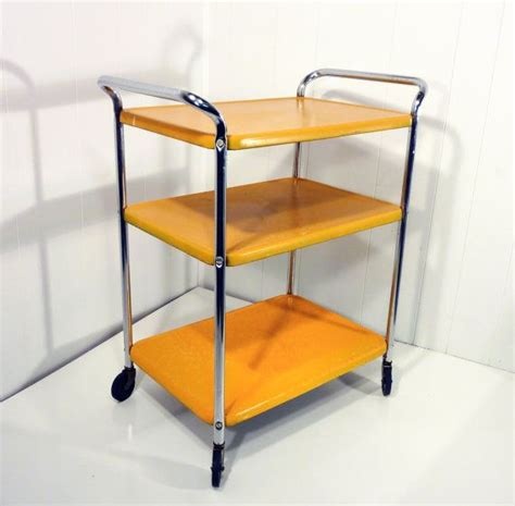yellow kitchen cart 17 best images about vintage treasures on