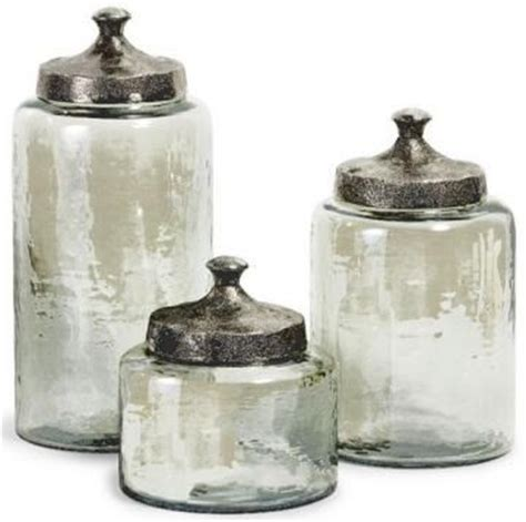bathroom glass canisters 17 best images about canisters on pinterest ceramics