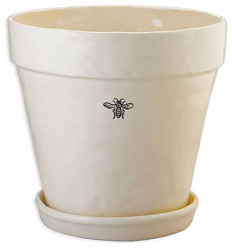 indoor ceramic planters ceramic bee planter farmhouse indoor pots and planters by bliss home design
