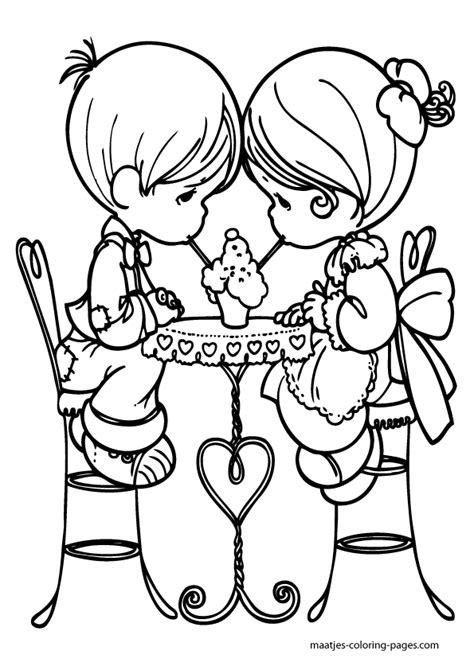 Valentines Day Coloring Pages For Kids Valentines Day Coloring Pages For Adults