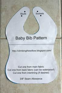Baby Bib Templates by Baby Bib Template Www Imgkid The Image Kid Has It