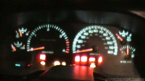 check gages light dodge ram how to test the instrument cluster on you dodge ram