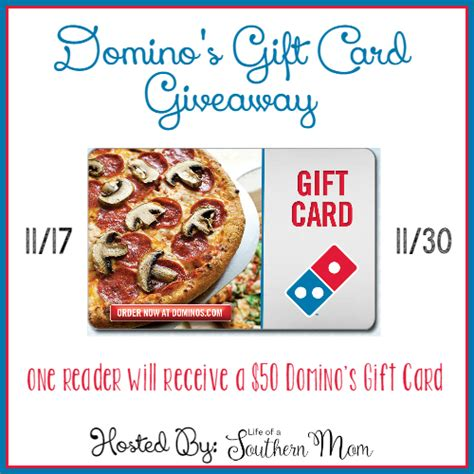 Dominos Giveaway - domino s 50 gift card giveaway here we go again ready