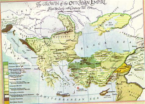 Ottoman Empire Map 1500 Hist 1301 History Of The Arab World Al Akhawayn Summer 2006