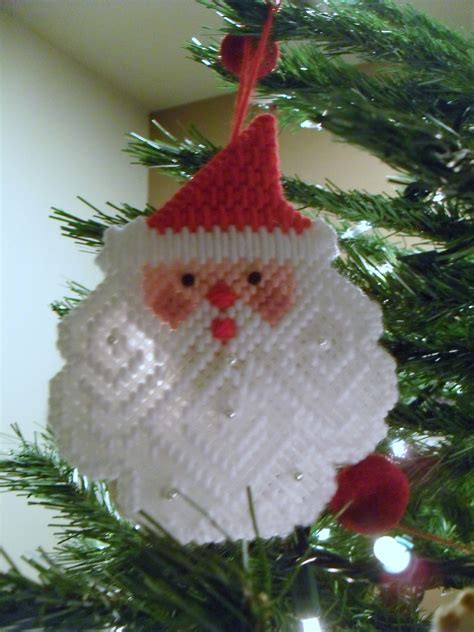 Handmade Santa Ornaments - handmade ornaments so vicki