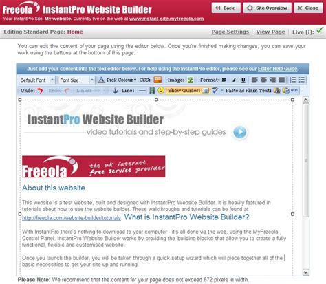 tutorial website builder how to paste html code into the instantpro website builder