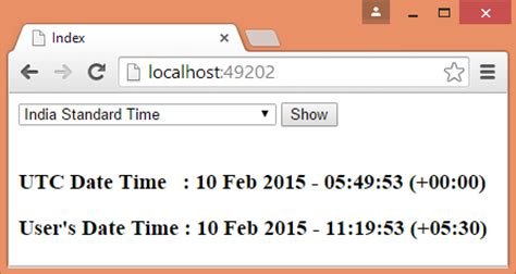 utc format converter store datetime as utc and convert as per user s time zone