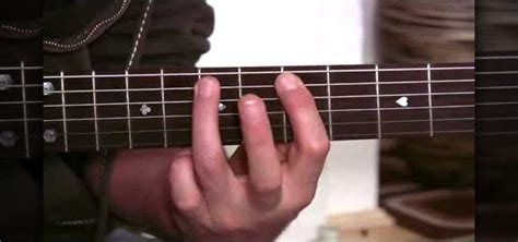how to play acoustic guitar how to play a minor pentatonic pattern on acoustic guitar