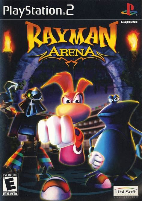 emuparadise game ps2 rayman arena usa iso