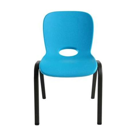 Lifetime Stacking Chairs by Lifetime Children S Stacking Chair In Blue