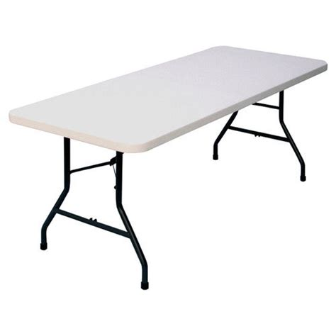 correll 60 in rectangle molded folding banquet table