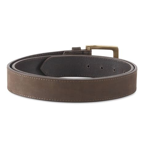 Style N Craft Embossed Leather Tool Work Belt 94 051 392702 leather belt in brown color style n craft