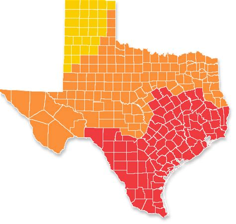climate map of texas 2009 iecc climate zone map texas