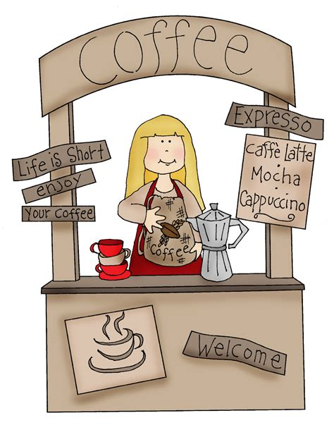 Booth Coffee free dearie dolls digi sts may 2015